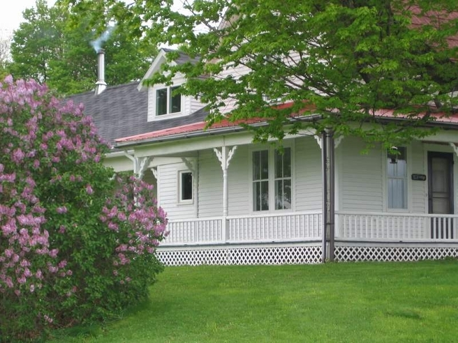 Wraparound Porch at Moore's Hill Bed and Breakfast